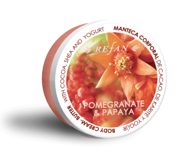 REFAN POMEGRANATE&PAPAYA BODY CREAM