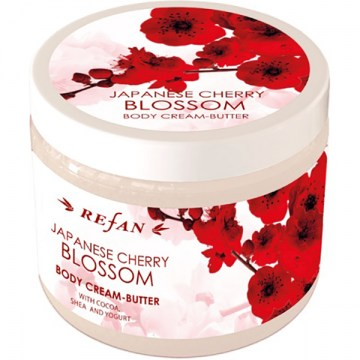 Refan Japanese Cherry Blossom Body cream butter600x600