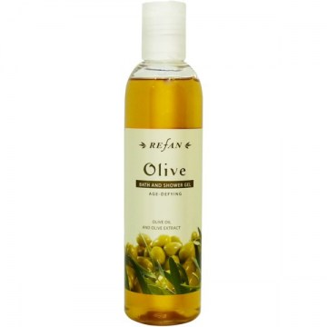 Refan Olive shower gel, 250 ml600x600