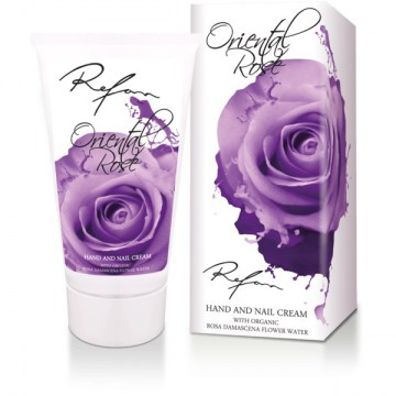 Refan Oriental Rose hand and nail cream600x600