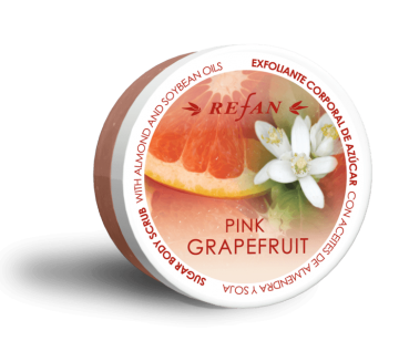 Refan Pink Grapefruit body sugar